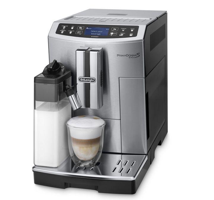 """Nur frisch gemahlener Kaffee wird bei der """"De'Longhi PrimaDonna S Evo ECAM516.45.MB"""" zum Aufbrühen verwendet."""