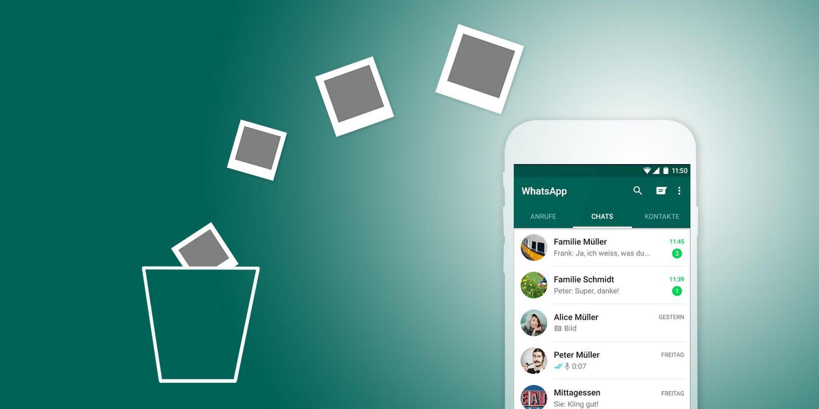 Daten Löschen Whatsapp