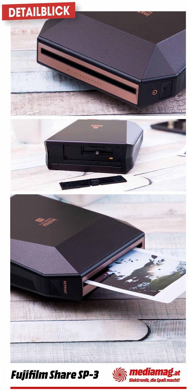 Handyfotos als Sofortbilder ausdrucken – mit dem Instax SHARE SP-3.