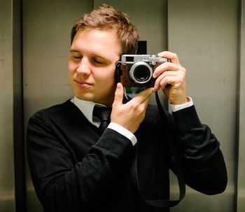 Selbstportrait von Sebastian Freiler.