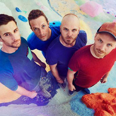 """Coldplay veröffentlichen mit der EP """"Kaleidoscope"""" ein Begleitwerk zu ihrem Album """"A Head Full Of Stars""""."""