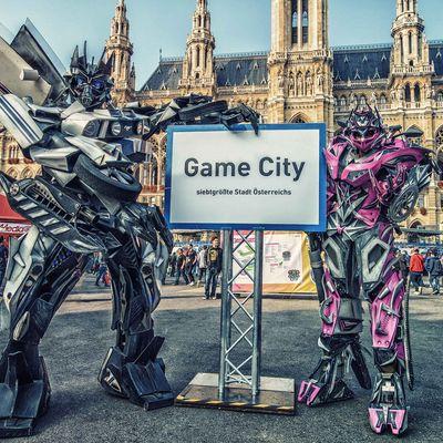 Die Game City ist wieder im Wiener Rathaus.