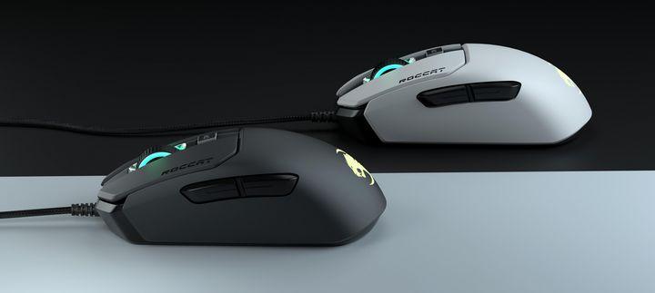 Die Maus muss ergonimisch zur Hand passen.