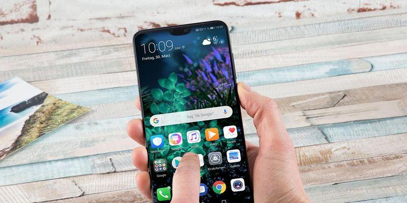 Das Huawei P20 Pro im Fokus.