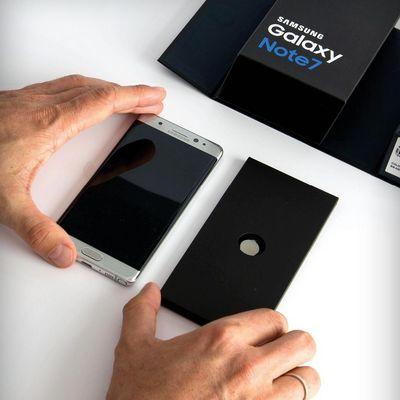 Auspack-Spaß mit dem Samsung Galaxy Note7