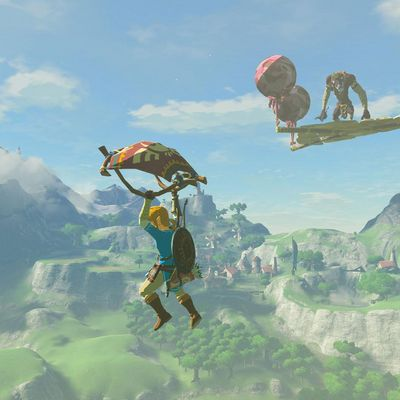 """Neue Abenteuer für Link und Sie in """"The Legend of Zelda: Breath of the Wild""""."""