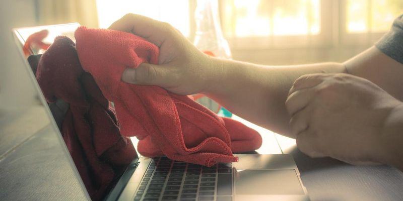 So wird das Notebook wieder sauber.
