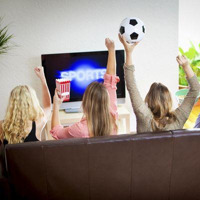 Fußballschauen