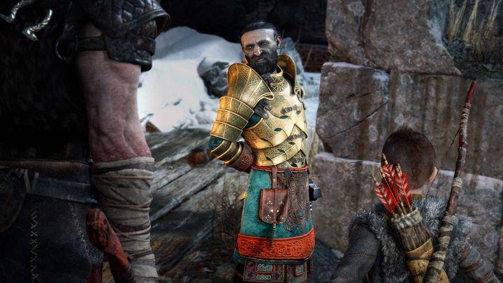 Die Zwerge Brok und Sidri verbessern ihre Ausrüstung.