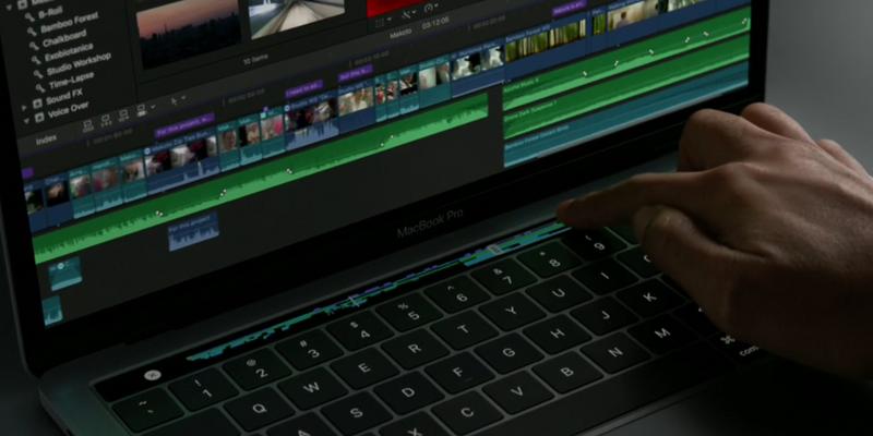 Neues MacBook Pro mit Touch Bar