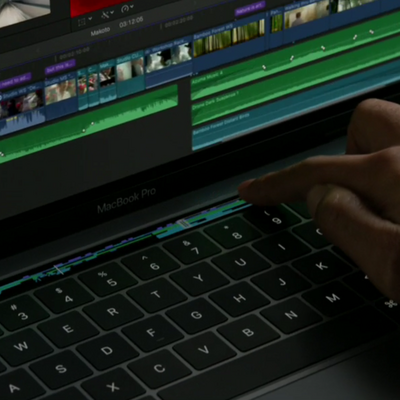 Neues MacBook Pro mit Touch Bar