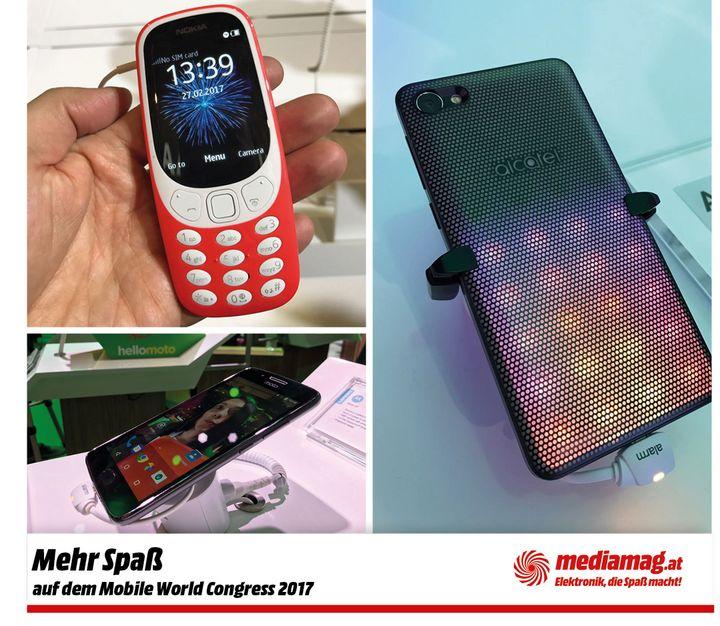 Nokia 3310, Alcatel A5 LED, Motorola