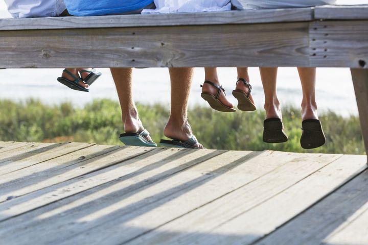 Schöne Füße für den Sommer.