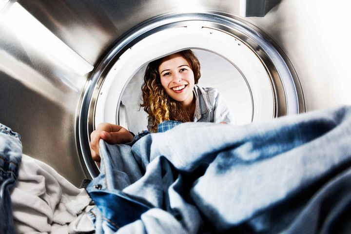 Waschtrockner trocknen Ihre Kleidung direkt im Anschluss an den Waschgang.