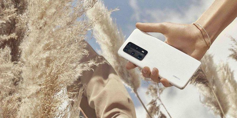 """Das """"Huawei P40 Pro"""" beherrscht den neuen Mobilfunkstandard 5G."""
