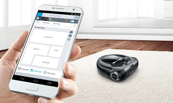"""Mit seinem """"Roxxter"""" hat Bosch erstmals einen Saugroboter vorgestellt."""
