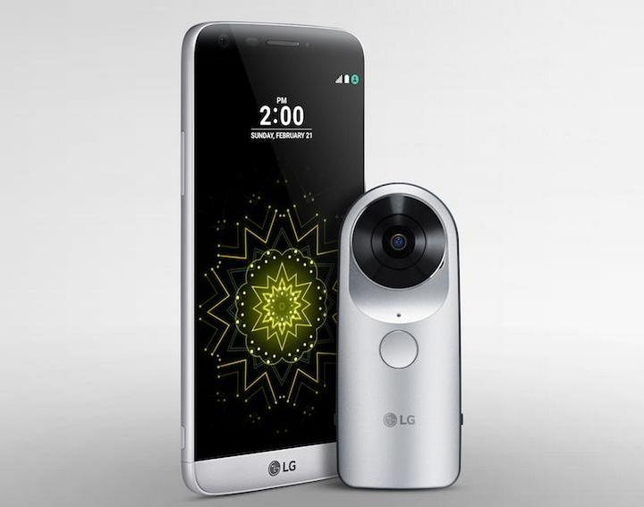 """""""LG 360 CAM"""" erstellt Panoramen in Verbindung mit dem """"LG G5"""""""