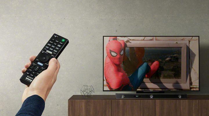 """Die """"Sony HT-ZF9"""" bringt dreidimensionalen Sound ins Wohnzimmer."""