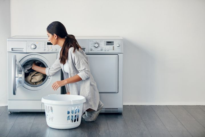 Heiße Waschgänge tun der Maschine gut.