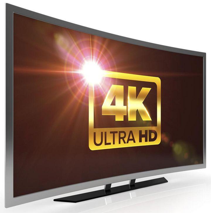 4K UHD TV-Gerät