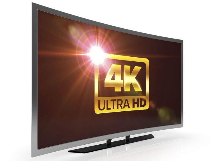 4K-UHD-TV-Gerät