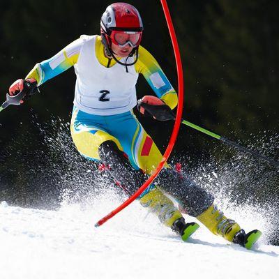 Slalomläuferin Lenzerheide