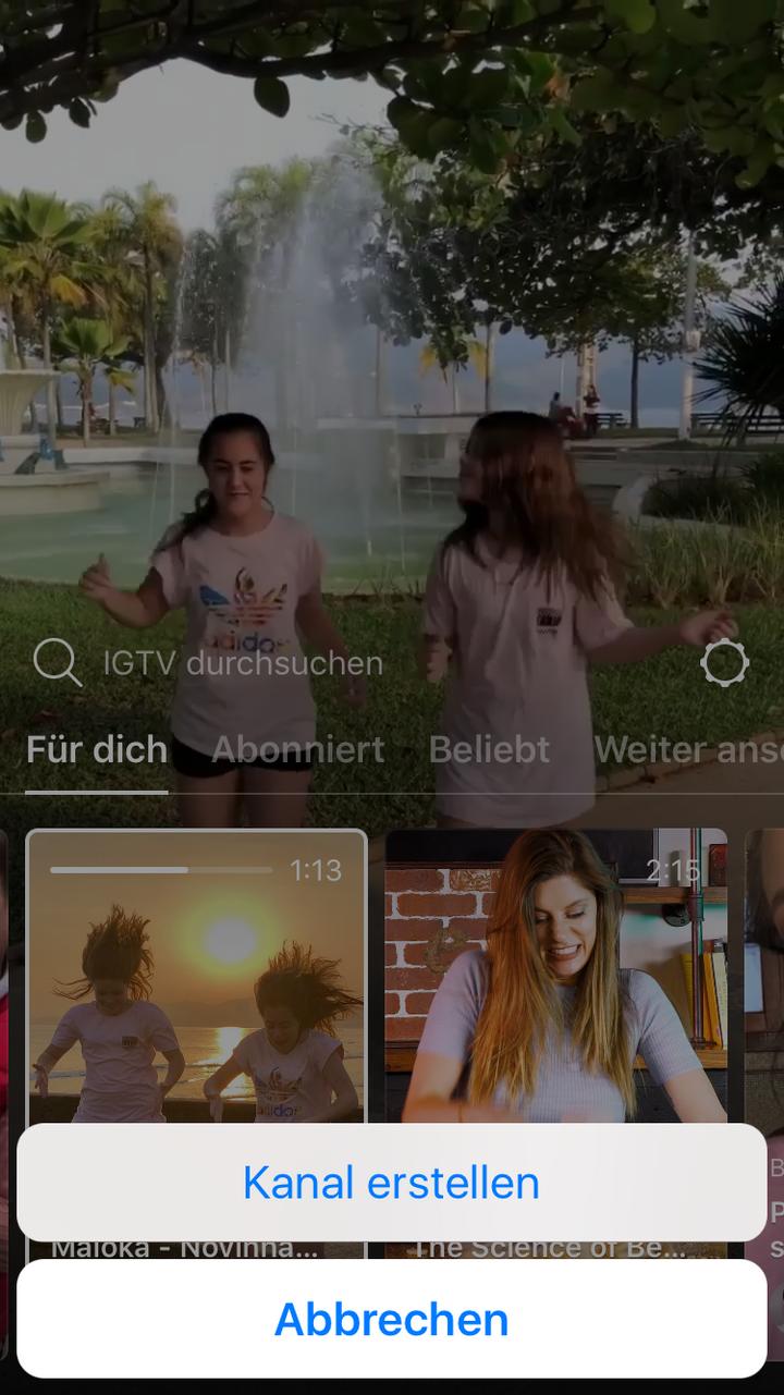 IGTV ist die neue Videoplattform von Instagram.