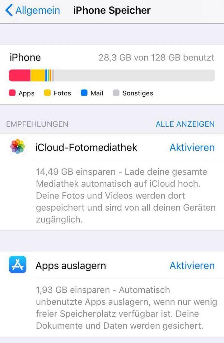 Dieses neue Feature hilft dabei, am iPhone und iPad Speicherplatz zu sparen.
