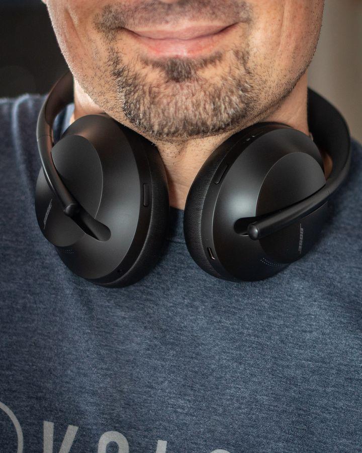 Die effektive Lärmunterdrückung verhindert Störgeräusche.