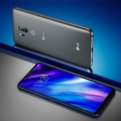 LG präsentiert neues Premium-Smartphone G7 ThinQ.