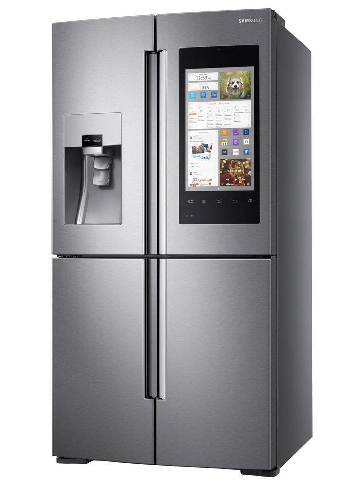 Smarte Küche: Samsung Family Hub nimmt eine Pionierrolle in Sachen Konnektivität ein.