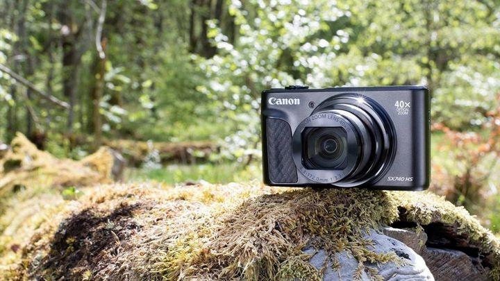 Die 5-achsige Bildstabilisierung der Canon PowerShot SX740 HS schützt vor verwackelten Aufnahmen.