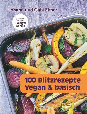 Ein Rezeptbuch für schnelles, veganes und basisches Kochen.