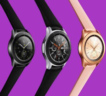 """IFA 2018: Samsung stellt die neue """"Galaxy Watch"""" vor."""