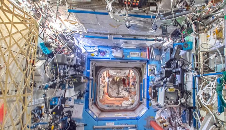 Eine neue Funktion von Google Street View ermöglicht ausführliche Einblicke in die Internationale Raumstation.