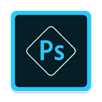 "Die App ""Adobe Photoshop Express""."
