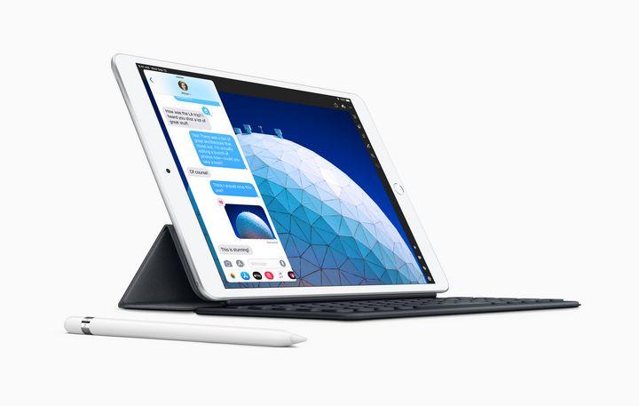Mit dem Apple Pencil (2. Generation) kann man skizzieren, sich Notizen machen, ausmalen und E-Mails kommentieren.