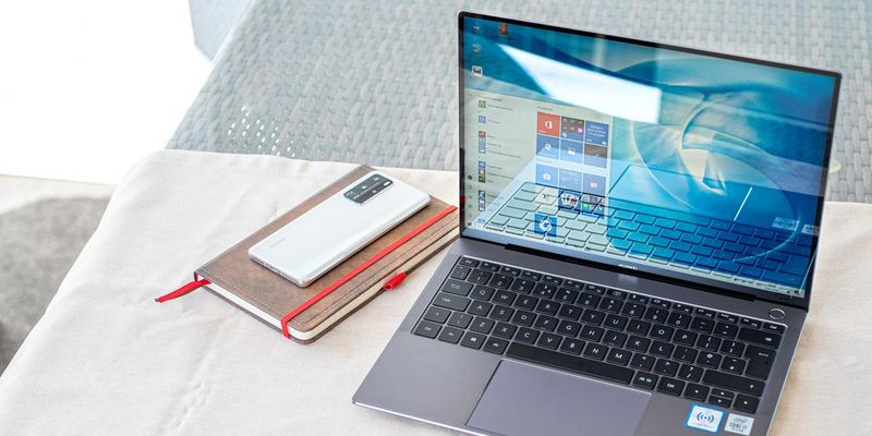"""Das neue """"MateBook X Pro""""."""