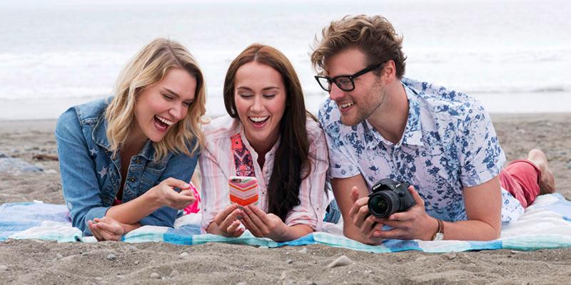 Die Kamera ist immer online, wenn es das Smartphone ist.