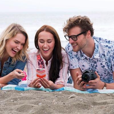 "Gutes Team: Nikon-Kamera und App ""SnapBridge""."