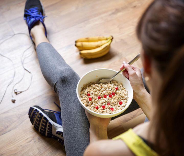 Wer hart trainiert, hat sich ein köstliches Frühstück redlich verdient.
