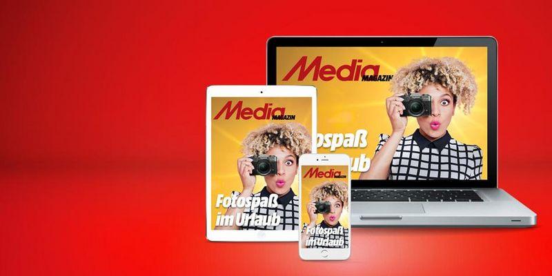 Die neueste Ausgabe des Mediamagazins.