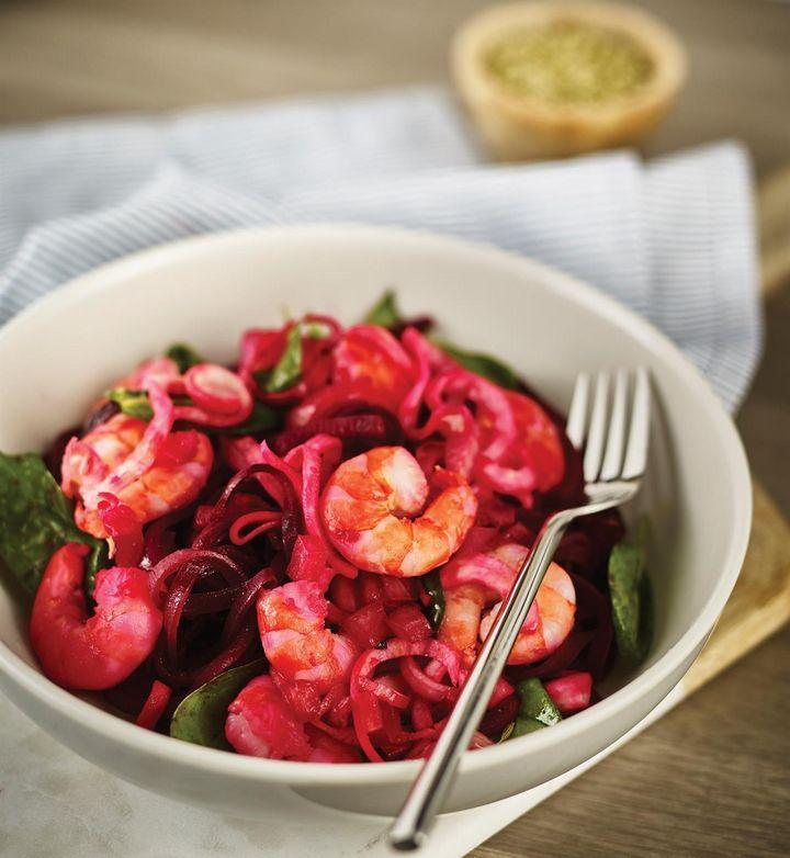 Mit Gemüsenudeln steigt der Ballaststoff-Anteil in der Ernährung.