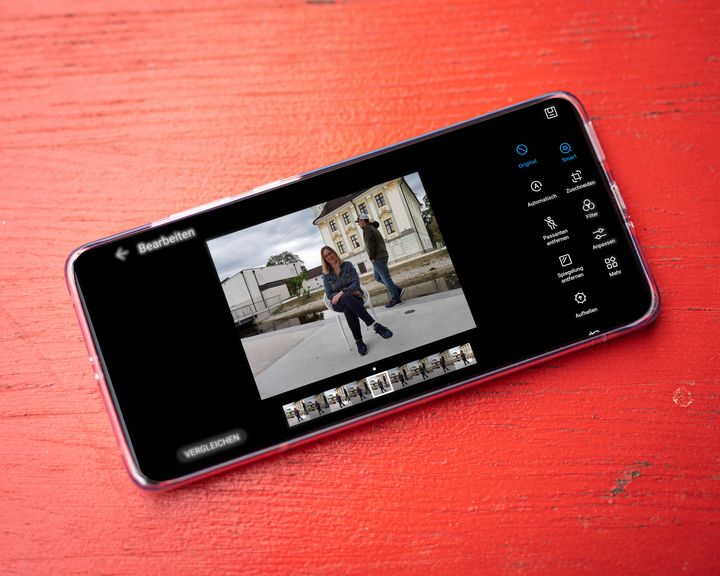 Huawei Golden Snap Person entfernen