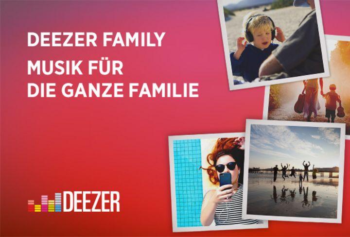 Ein Account, sechs Profile mit Deezer Family