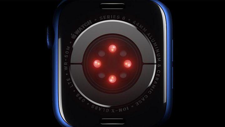 """Der SpO2-Sensor der """"Apple Watch Series 6"""""""
