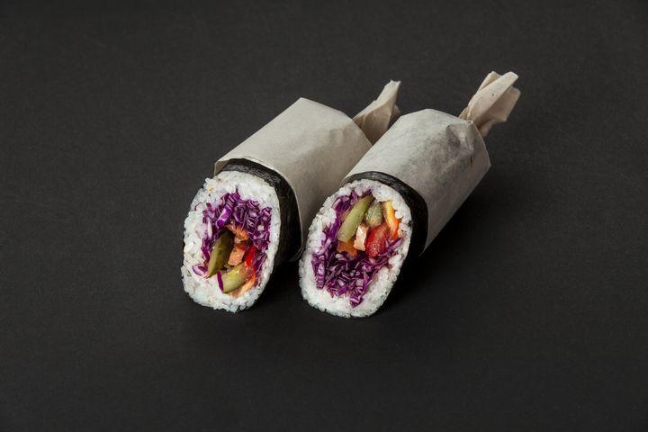 Prep Meal für unterwegs: Sushi Burrito