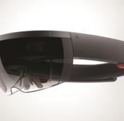 Mit der HoloLens wird jede Fläche die im Blickfeld liegt genützt.