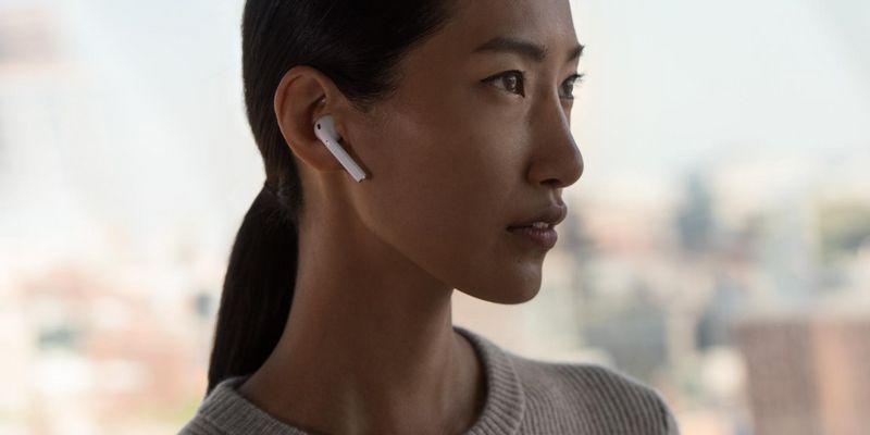 Smarter Hören mit den AirPods.