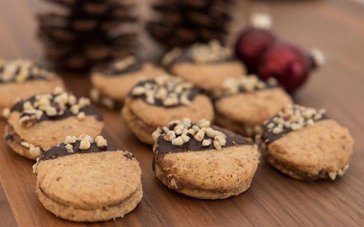 Nuss-Schokoladen-Kekse